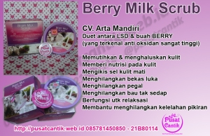 Berry Milk Scrub