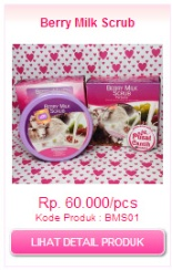 berry milk scrub original