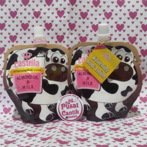 Castella Whitening Body Lotion Almond Oil Milk