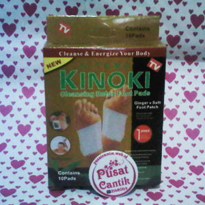 Kinoki Ginger Salt Gold