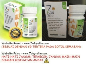 7 Days Slimming Suplemen Pelangsing