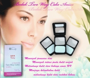 Bedak Anisa Two Way Cake (Bedak Padat)